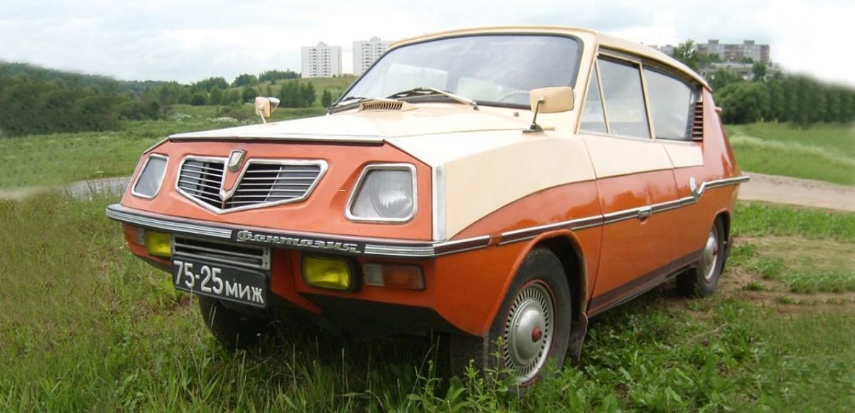 Необычная «Фантазия»: самодельный автомобиль за минимальный бюджет