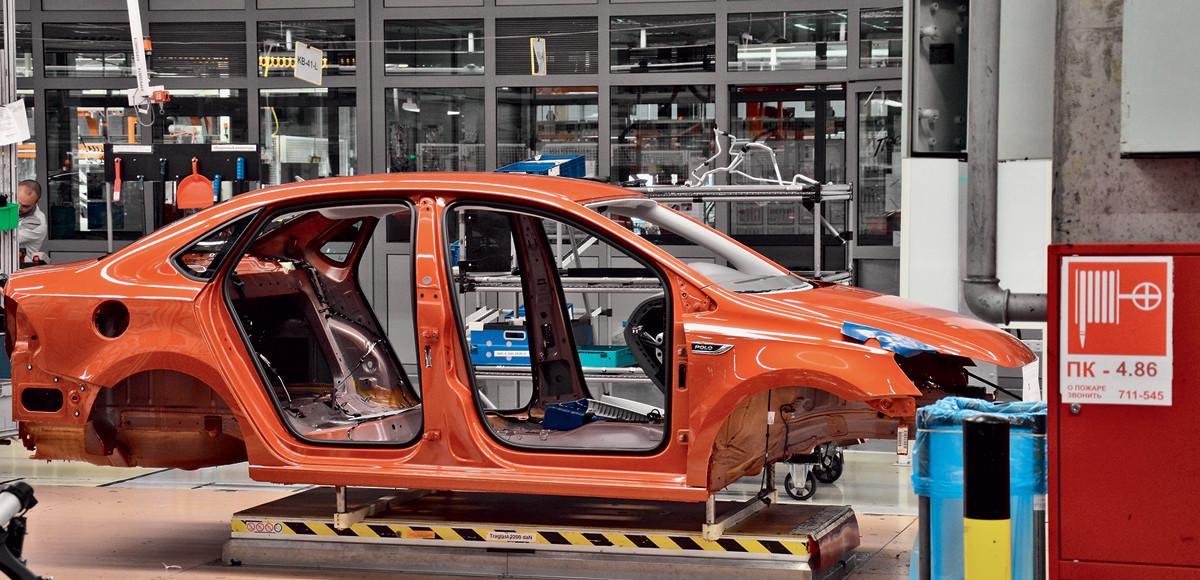 Что может лазер: сварка VW Polo в Калуге