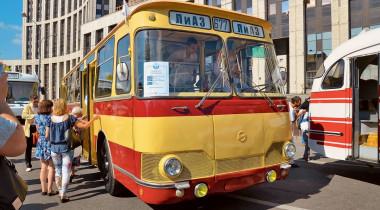 Автобусы СССР: на чем ездили москвичи в прошлом веке