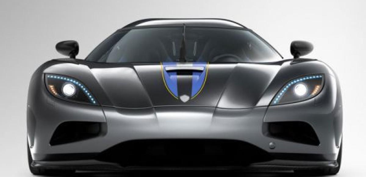 Женевский автосалон 2010. Koenigsegg Agera