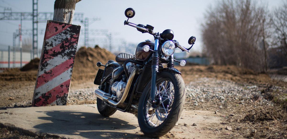 Triumph Bonneville Bobber. Хот род