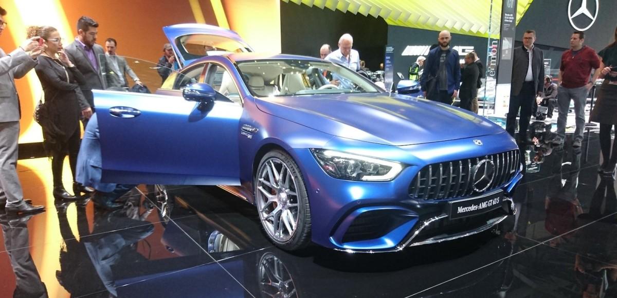 Mercedes-AMG GT 4-Door Coupé: запутаться в счете