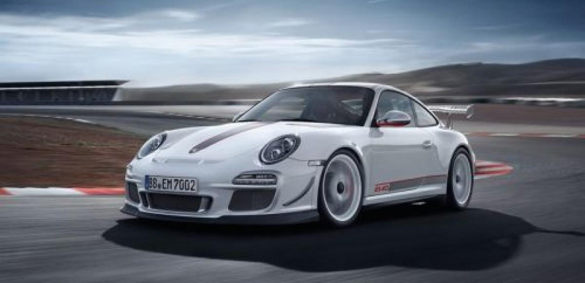 Porsche представил новый спортивный автомобиль 911 GT3 RS 4.0