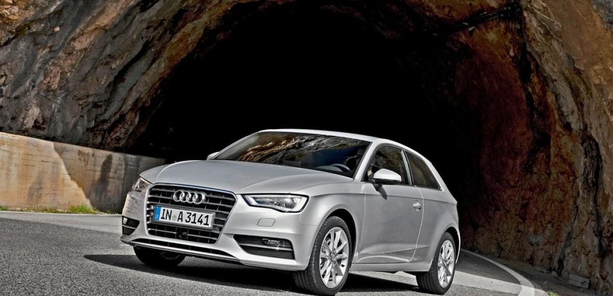 Audi A3. Шпионы 3D