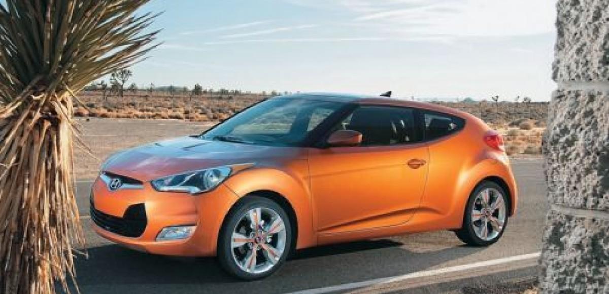 Hyundai Veloster. Разнодверный