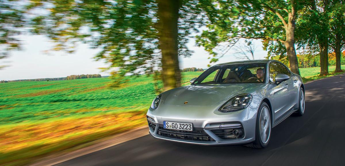 Porsche Panamera. Трио в одном