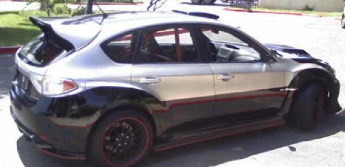 Для фильма «Форсаж-4» изготовлен уникальный Subaru Impreza WRX STI