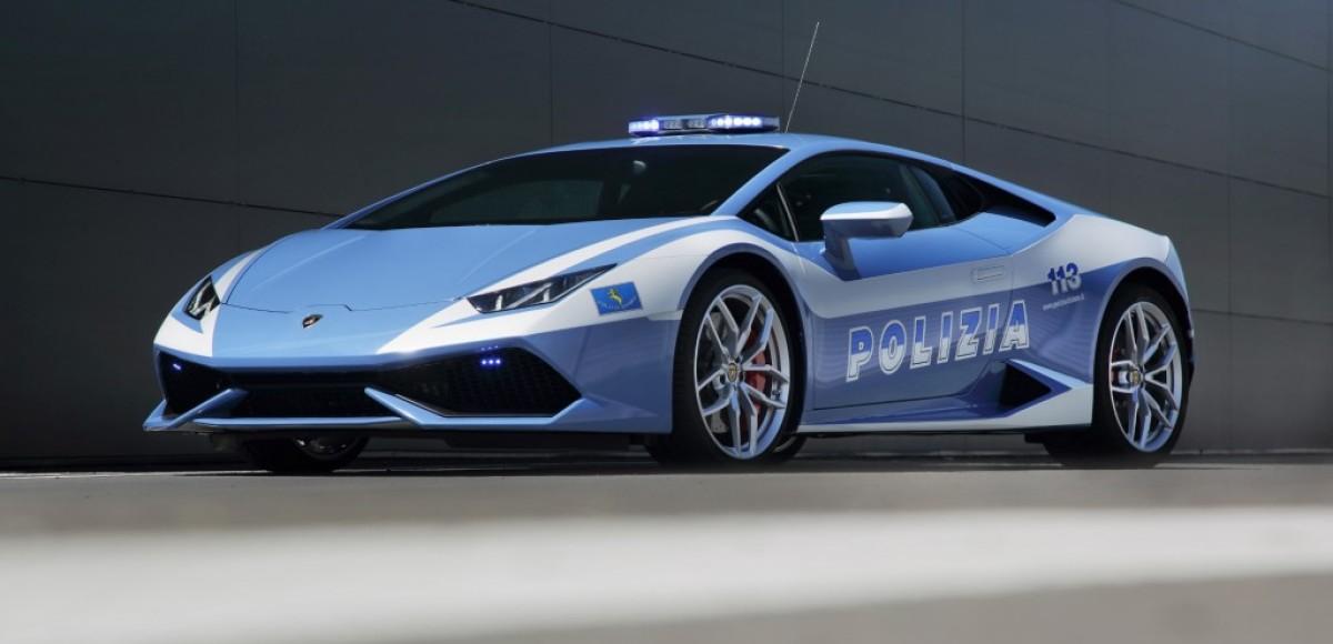 Итальянская полиция получила Lamborghini Huracán