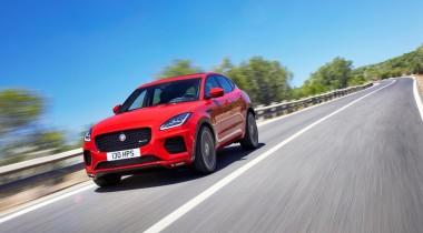 Jaguar представил кроссовер E-Pace