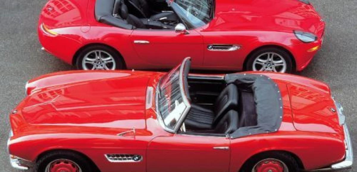BMW отмечает 75 лет с момента выпуска первого родстера