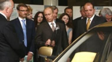 Владимир Путин посетил АВТОВАЗ