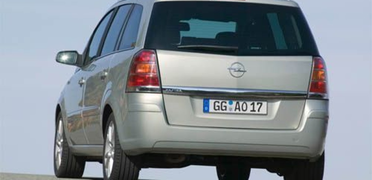 Opel Zafira 2.0 DI 16V. Курочка-ряба