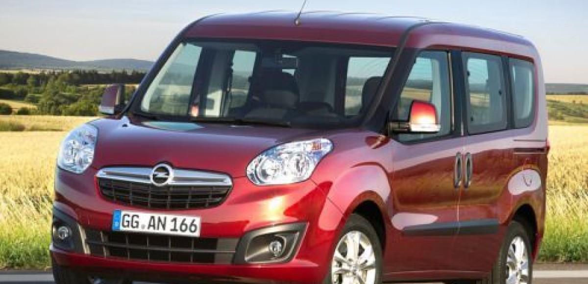 Компания Opel распространила информацию о модели Combo