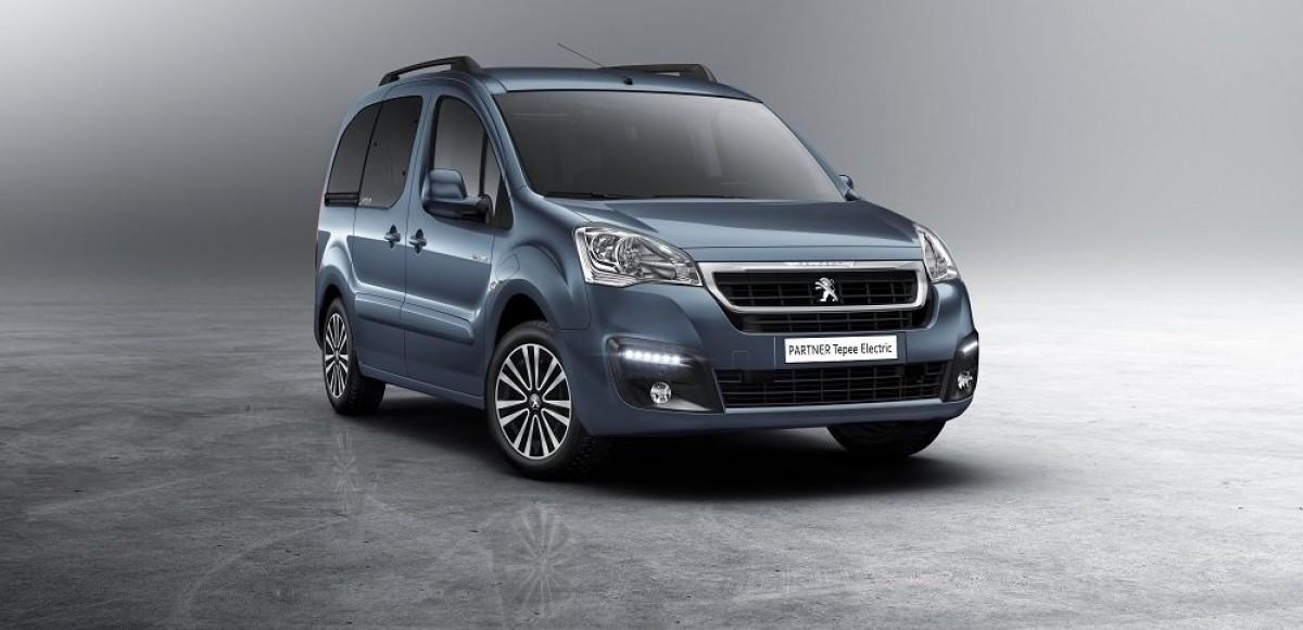Peugeot  Partner Tepee Electric покажут в Женеве.