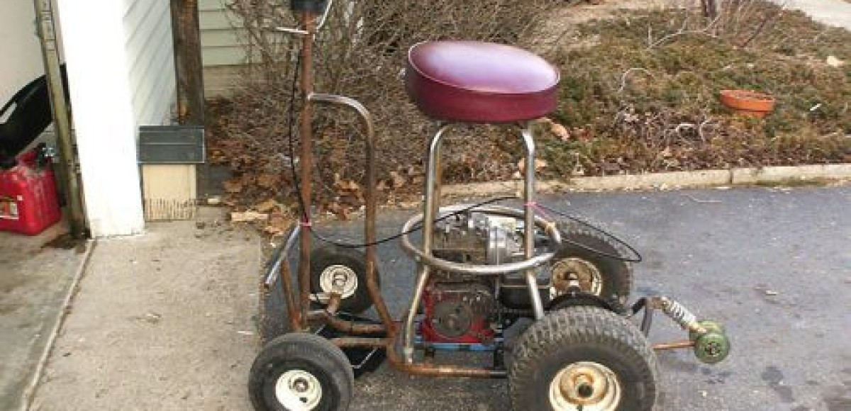 Водителя лишили прав за управление в пьяном виде моторизованной табуретки