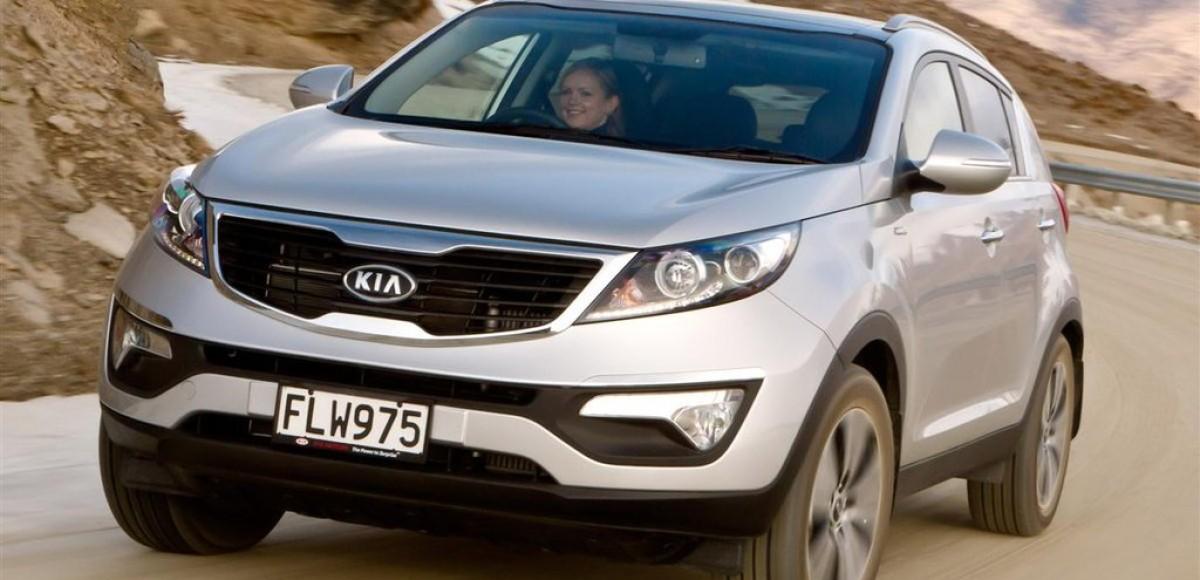 KIA Sportage, история модели