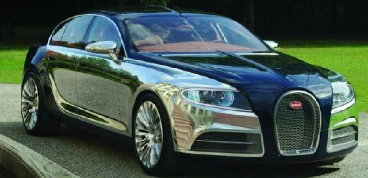 Bugatti представляет 16 C Galibier Concept