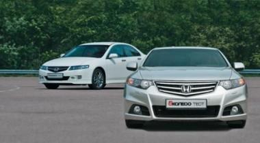 Honda Accord VII vs Honda Accord VIII. Академизация