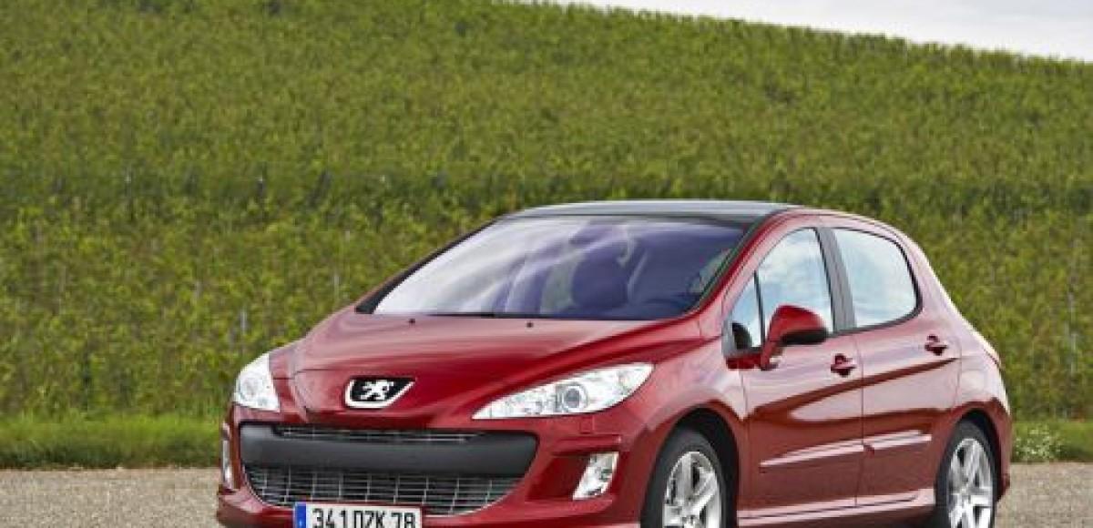 Peugeot Россия предлагает двойную скидку на Peugeot 308