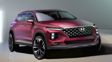 Первые изображения Hyundai Santa Fe нового поколения