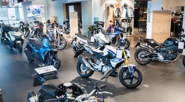 «АВИЛОН» открыл первый в России шоу-рум BMW Motorrad с зоной Heritage