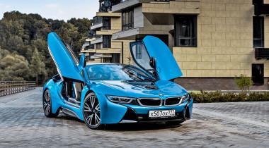 BMW i8. Вперед, в будущее