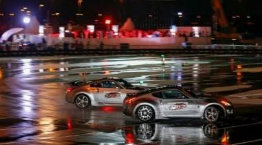 Nissan в дрифте «въехал» в книгу рекордов Гиннеса