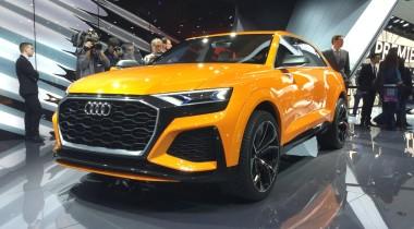 Audi Q8 Sport Concept: каким будет самый быстрый Q8