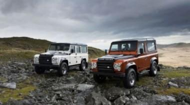 Land Rover выпускает Defender Fire & Ice ограниченной серии