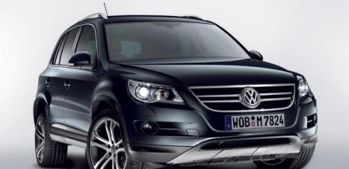 Volkswagen представляет специальную версию Tiguan Track & Avenue