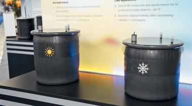Со снежинкой или с солнцем: пневмоподвески для разных температур