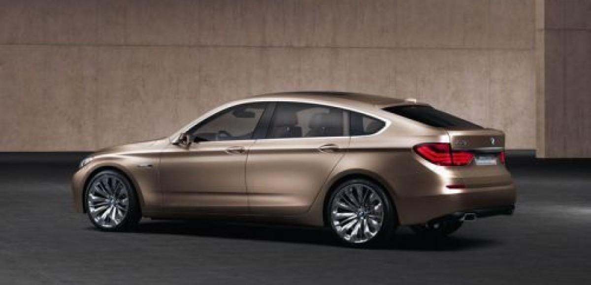 BMW 5-Series GT Concept. Продвинутый седан