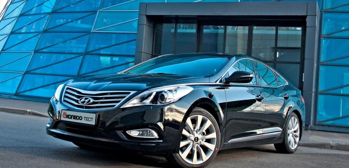 Hyundai Grandeur. Обойдемся без золота