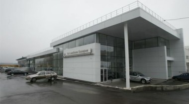 Новый автоцентр BMW в Нижнем Новгороде