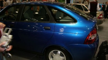 Lada Priora хэтчбек на выставке «ИНТЕРАВТО 2007»