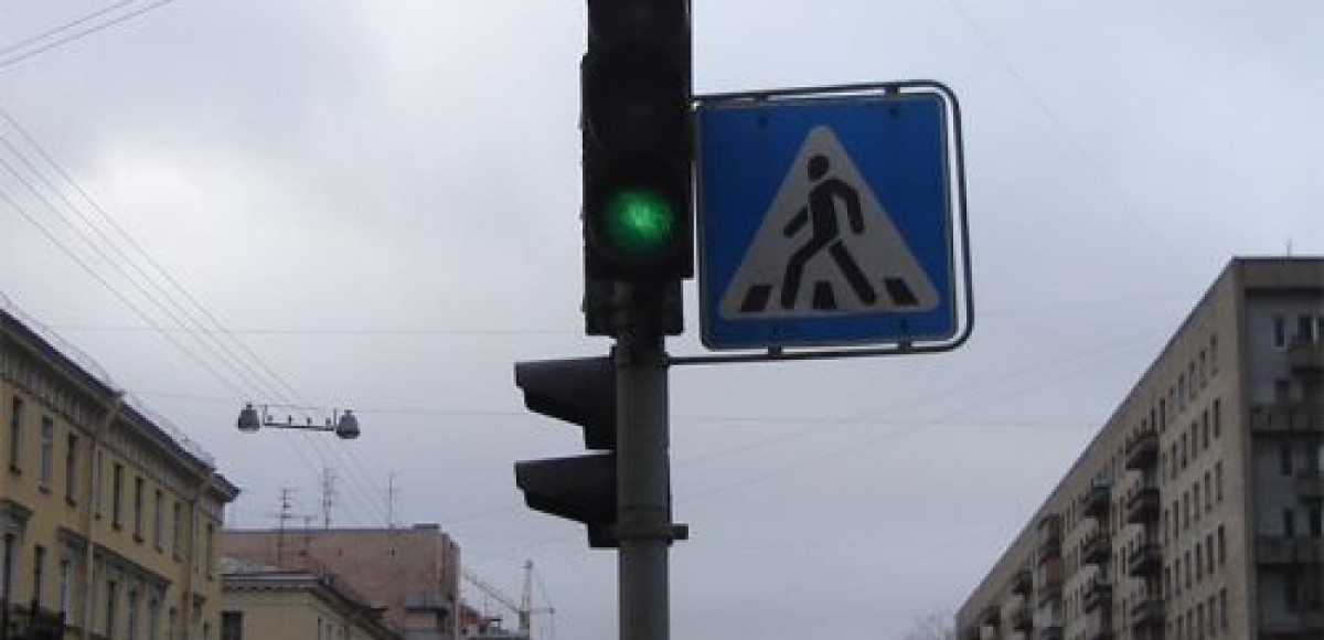 В Петербурге погасли светофоры