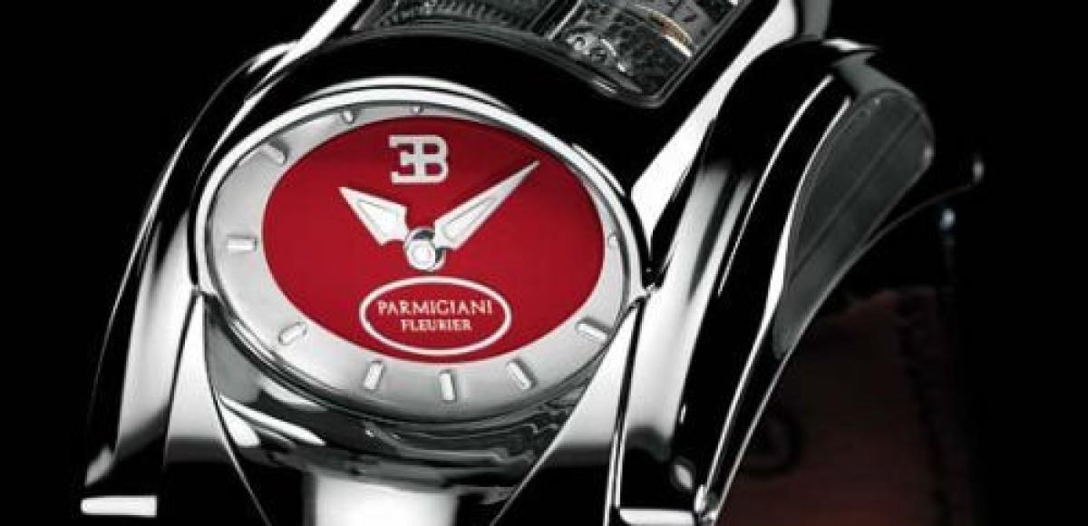 Для владельцев автомобилей Bugatti Veyron сделали новые часы