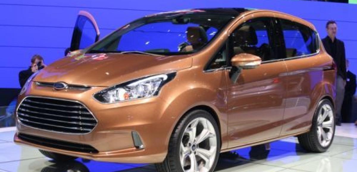 Ford приступил к тестовому производству компактвэна B-Max