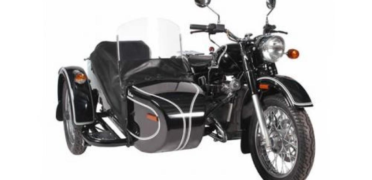 Мотоцикл «Урал» стал экспонатом британского музея, доехав до него своим ходом