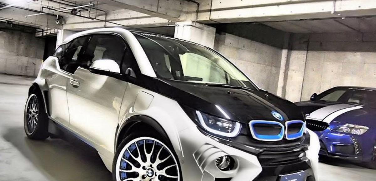 Обновленный BMW i3 выйдет в свет в 2017 году