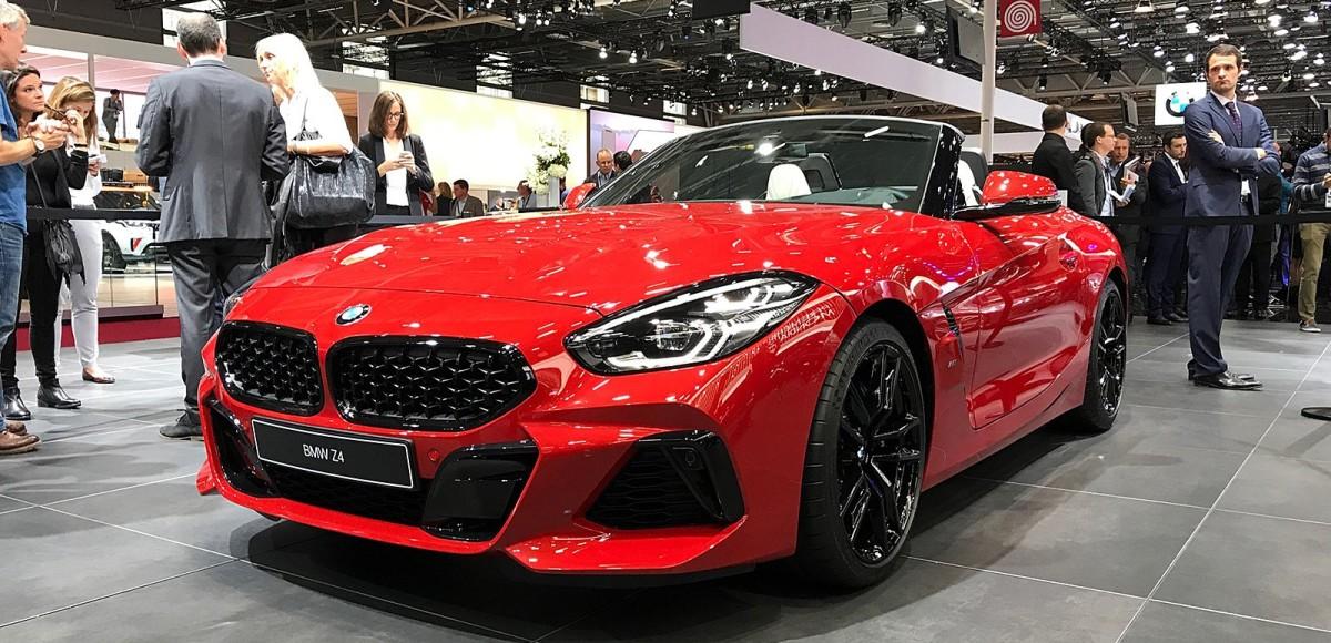 Новый родстер BMW Z4 представлен в Париже