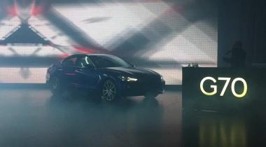 В России представили Genesis G70 и назвали цену