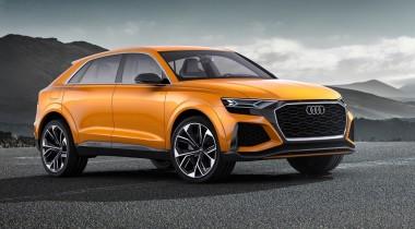 Новый кроссовер Audi Q4 появится в 2019 году