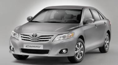Toyota начинает в России продажи обновленной Toyota Camry