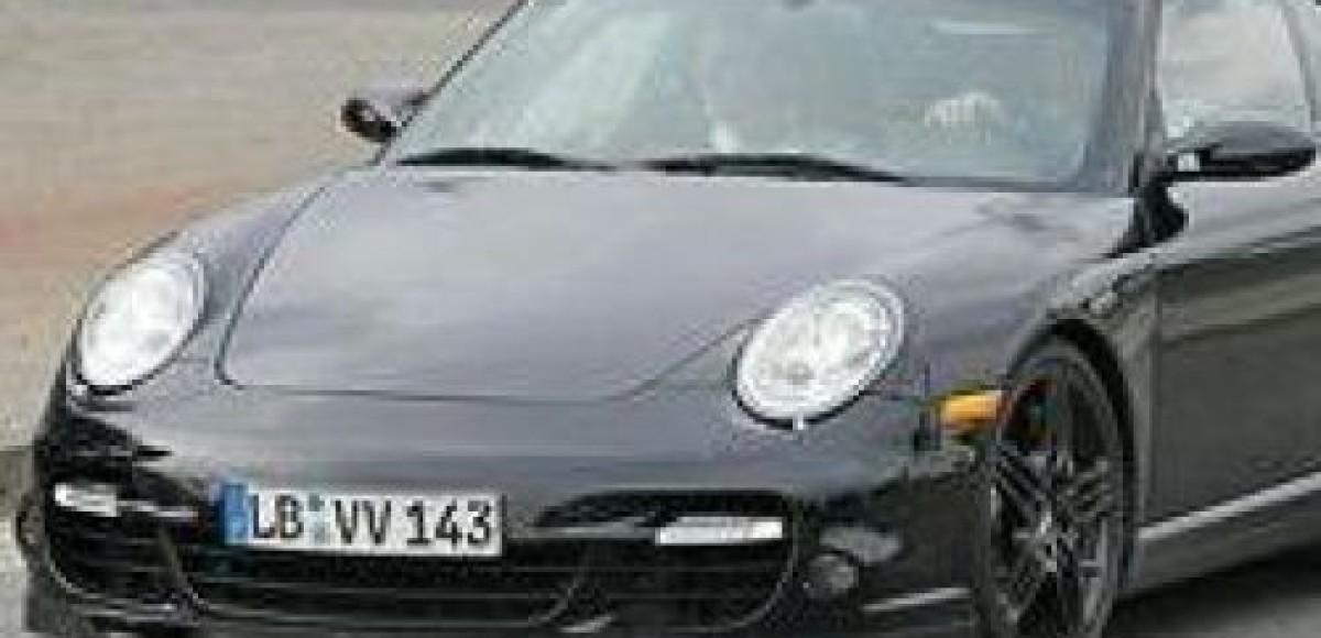 Porsche 911 Turbo. Рестайлинг