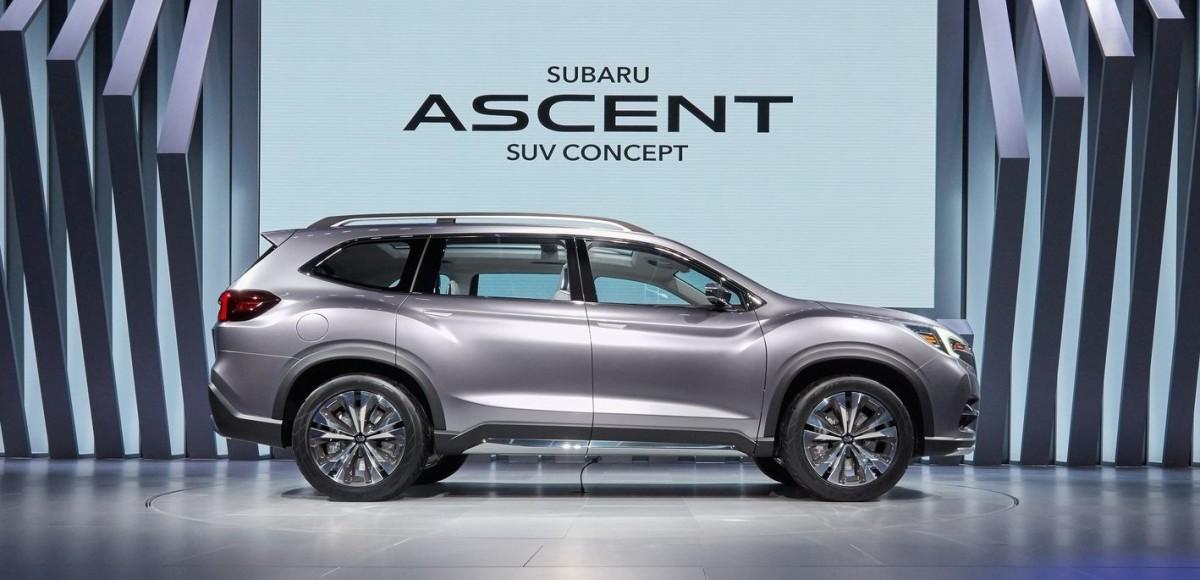 Subaru Ascent метит в высшую лигу