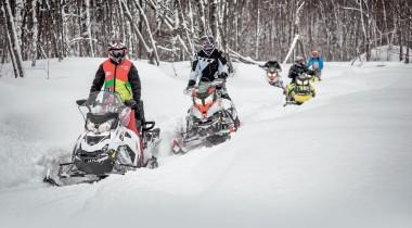 Снегоходы Ski-Doo и Lynx: на все случаи жизни
