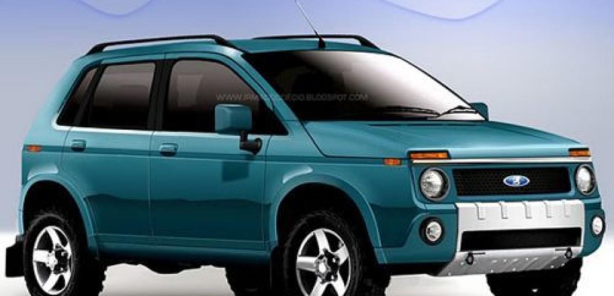 В Бразилии представили… Lada 4×4 нового поколения