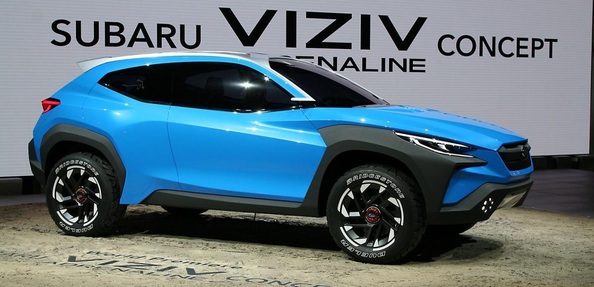 Subaru VIZIV Adrenaline Concept: Визуальные ощущения