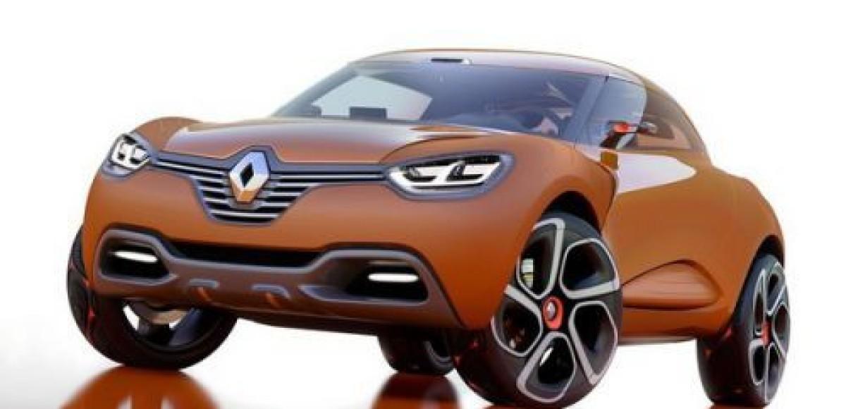 Премьера Renault Captur на Женевском автосалоне